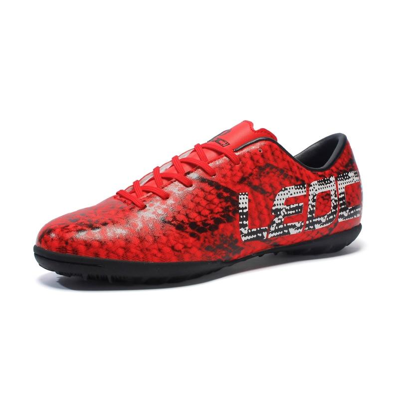 LEOCI Novo futsal shoes chuteira futebol chuteiras Homens meninos miúdos Alta  qualidade preço Barato em Sapatos de futebol de Sports   Entretenimento no  ... a0d224504ada1