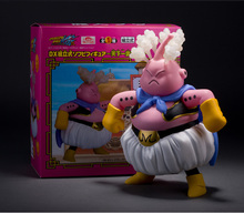 Original Anime Cartoon Dragon Ball Z Anger Majin Buu PVC Action Figure Collectible Model Toy 24CM for Kids