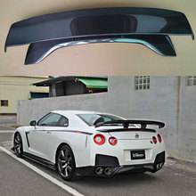 V Hyper Narrow STYLE CARBON FIBER GT SPOILER FOR NISSAN GT-R GTR R35 2009-2015 (not include tail lamp)