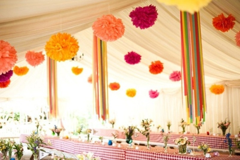 29 Colors Available Tissue Paper Pom Poms Rose Wedding