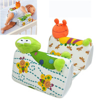 Infant Anti Roll Pillow Sleep Safe Cotton Head Positioner Anti-Rollover Baby Nursing Pillow Baby Adjustable Pillow T0033