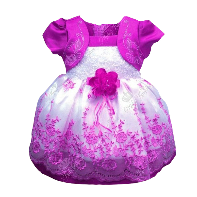 1 Year Birthday Party Dress for Girls Fancy Newborn Baby ...