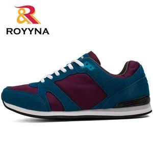 Image 3 - Туфли ROYYNA мужские повседневные, дышащие удобные, на шнуровке, весна осень