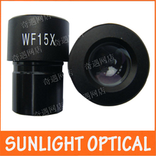 WF15X 13mm Wide Angle Lens Eyepiece for Biological Microscope Medical font b Science b font School