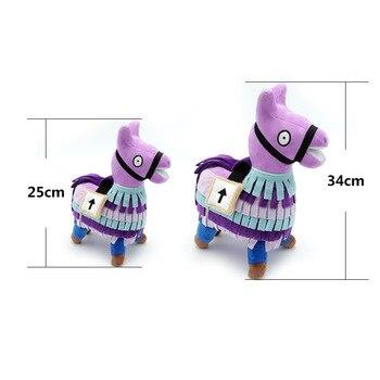 Plush Fortnight Supply Llama Super Soft Short Stuffed Toys Fort Night Game Plush Alpaca Craft Doll Fortnight Llama Plush Toys