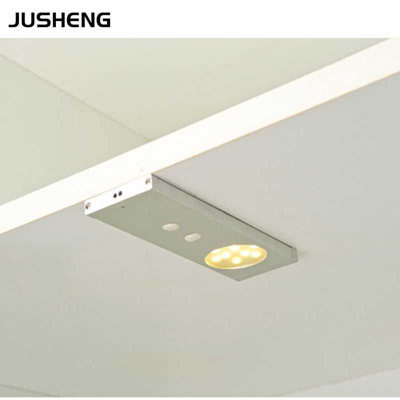 Led Light Fixture With Switch: 2017 LED Cabinet Lights 12v 2w LED Sensor Cabinet Lighting