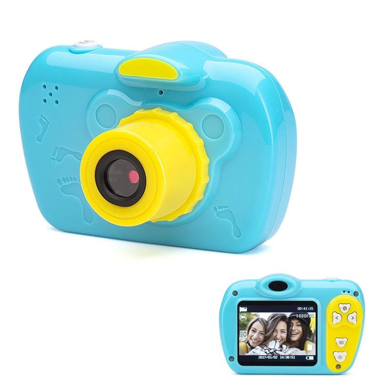 2.0 pouces 1080 P pour enfants bébé caméra dessin animé mignon enfants cadeau vidéo Photo caméscope