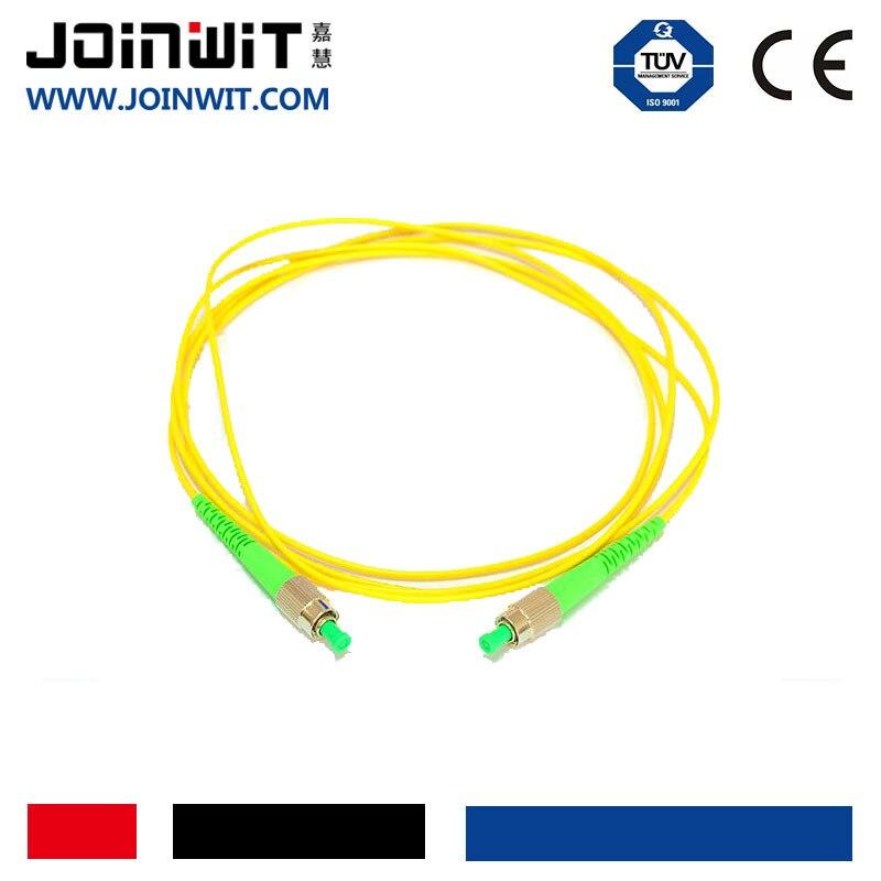 Joinwit SC UPC Одномодовый патч-корд м 3 м дуплекс мм 3,0 мм FTTH волокно оптический Джемпер 2 шт.