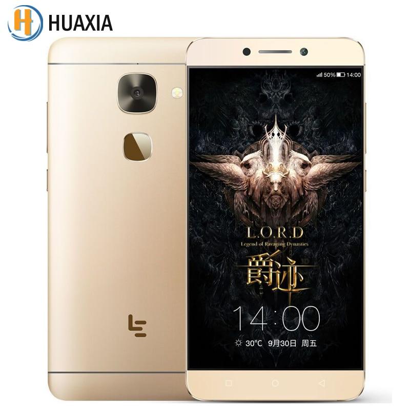Original Letv LeEco Le 2 X620 5.5'' Deca Core 3GB/4GB RAM 16GB/32GB/64GB ROM Android 6.0 Fingerprint MTK Helio X20 Mobile Phone