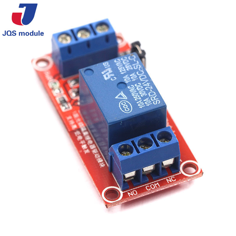 One 1 Channel Relay Module 5V 12V 24V High And Low Level Trigger Relay Control With Optocoupler