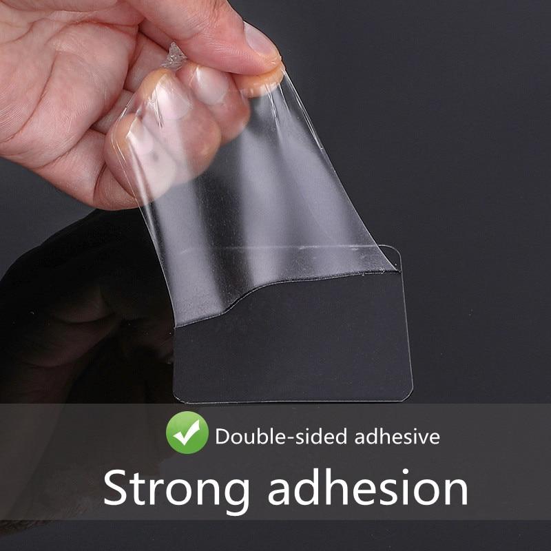 10 stks dubbelzijdig Transparant Plastic Zuignap Hulpstickers Sterke - Home opslag en organisatie