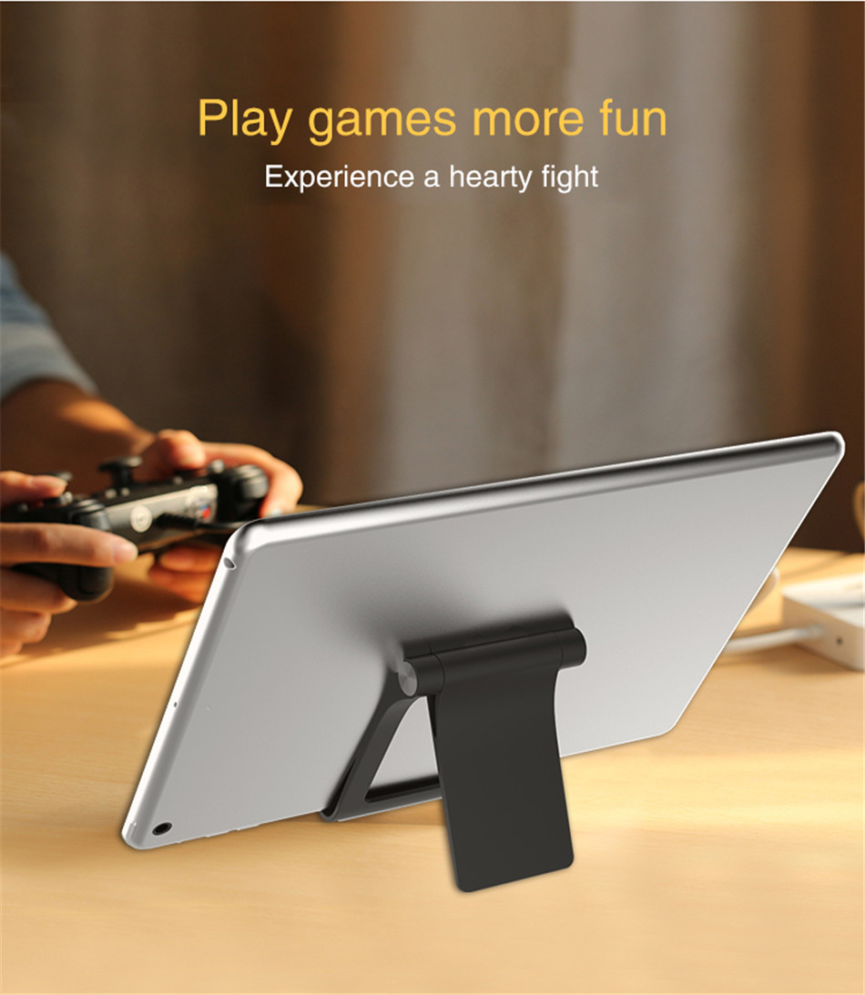 Universal Adjustable Phone Holder Stand For 7 8 Plus X Mobile Phones Hard PC Folding Tablet Stand Holder For S9 (11)