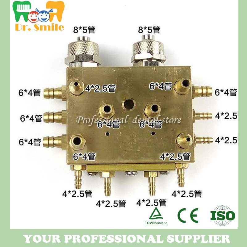 Dental Integrated Valve For Dental Unit Spare Parts