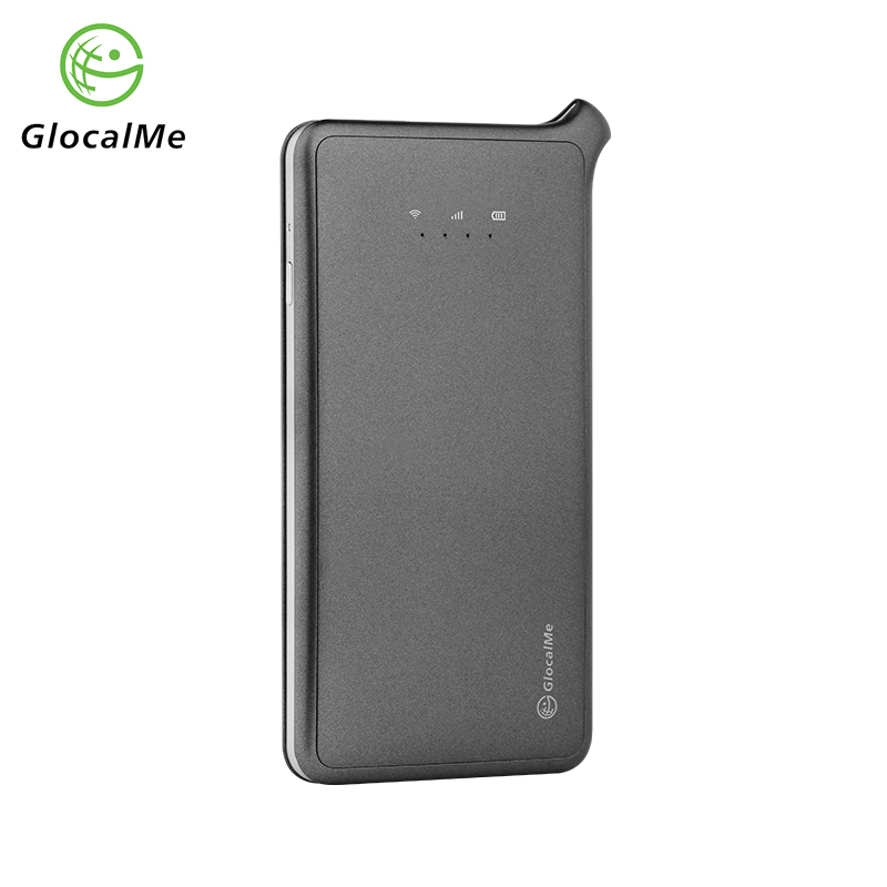 Glocalme U2 Wireless Router Mifi Free Roaming Worldwide Network Hotspot with 2 sim slot New 2018