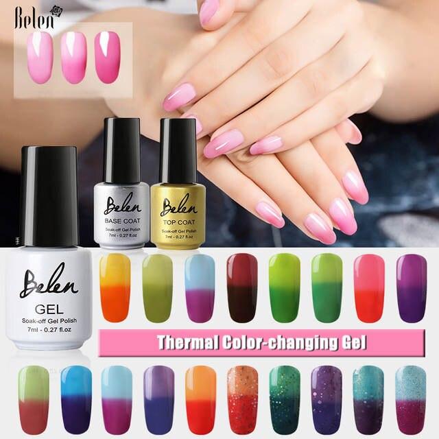 Online Shop Belen 100pcs/set UV Gel Nail Polish Paint That Changes ...