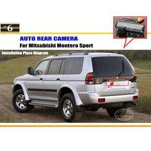 Caméra de Stationnement de voiture/Caméra de Recul Pour Mitsubishi Montero Sport/Vue Arrière Caméra/Plaque D'immatriculation Lampe OEM