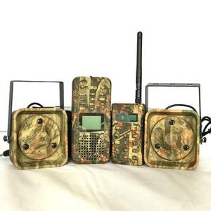 Image 1 - Decoy Jacht Brid caller 300 500 m Remoteremote Controle 2*50 W Externe Luidspreker Elektronica Dier Caller voor Jacht