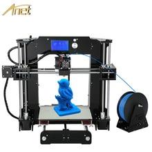 2017 Actualizado Anet A6 Reprap impresora 3d impresora de Alta precisión gran Fabricante Filamento Impresora 3D Kit DIY Con El Envío