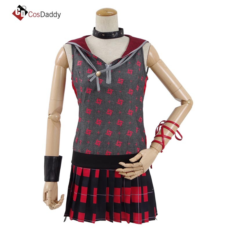 Final Fantasy XV FF15 Cosplay Costume Iris Amicitia Sisters Costumes Clothes Hot Game CosDaddy