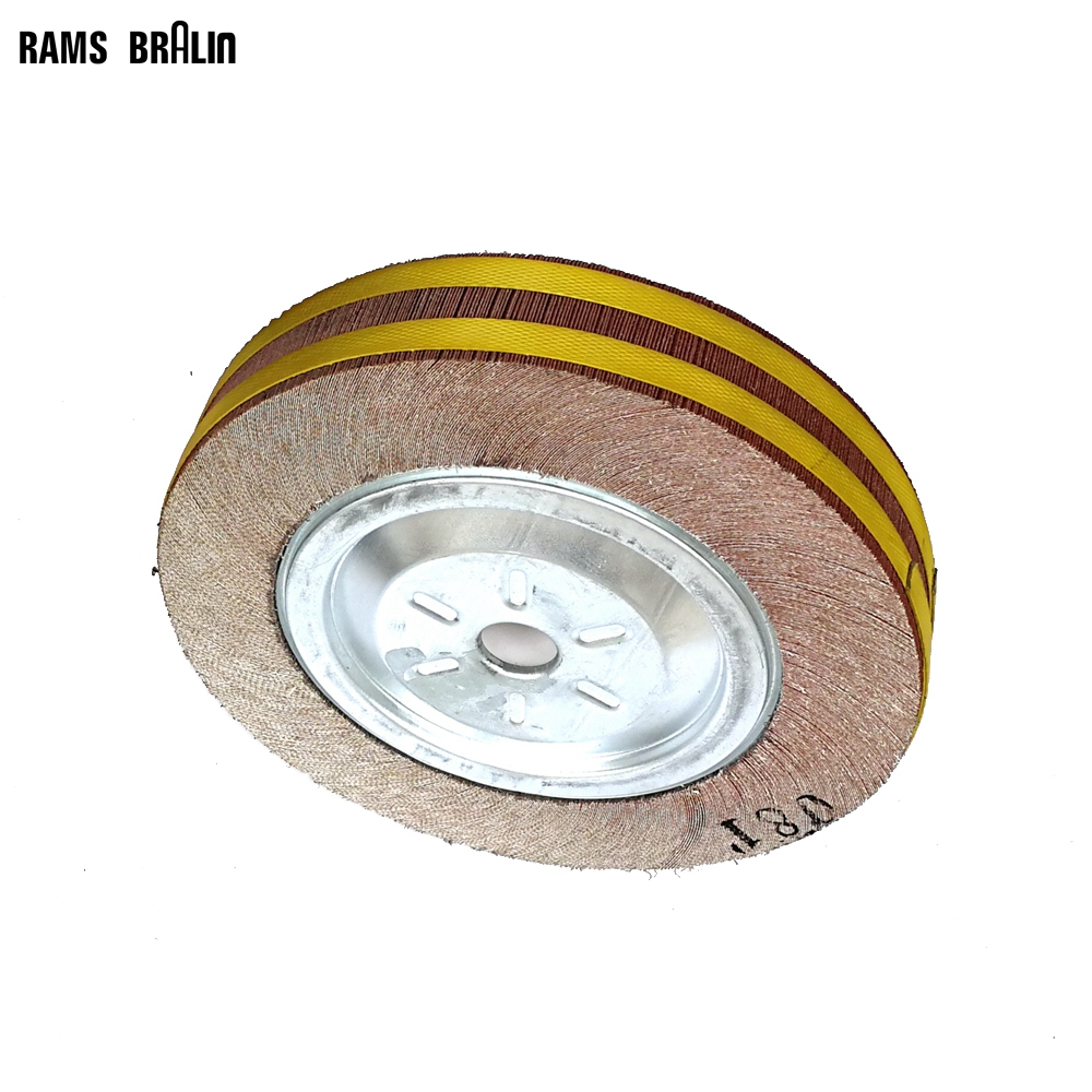 12*2*1  Abrasive Flap Wheel Polishing Grinding Wheel for Metal and Wood 8 inch iron ore seal carving knife grinding abrasive rock hand polishing wheel 200