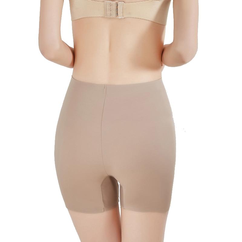 SLIMBELLE Slip Shorts for Under Dresses Seamless Mid Thigh and Waist Shaper Boyshorts Panties for Women