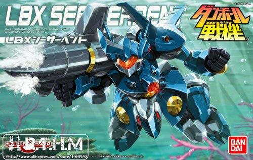 Bandai Danball Senki Plastic Model 026 LBX Sea Serpent Plastic models  wholesale Model Building Kits free shipping  lbx toys