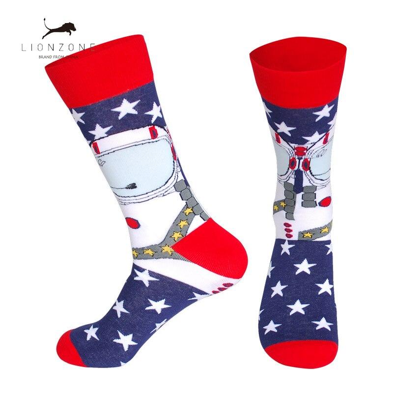 Men Funny Socks 26Colors Space Man Hot Dog Watermelon Pokemon Novelty Socks Combed Cotton Casual Crew Socks in Men 39 s Socks from Underwear amp Sleepwears