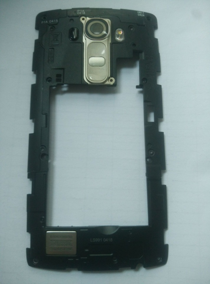 Glass Gold with Glue Card Camera Lens for LG G4