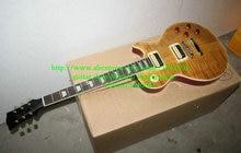 Envío Libre Más Nuevo Light Brown Custom Guitarra Eléctrica de Caoba de Alta Calidad Baratos