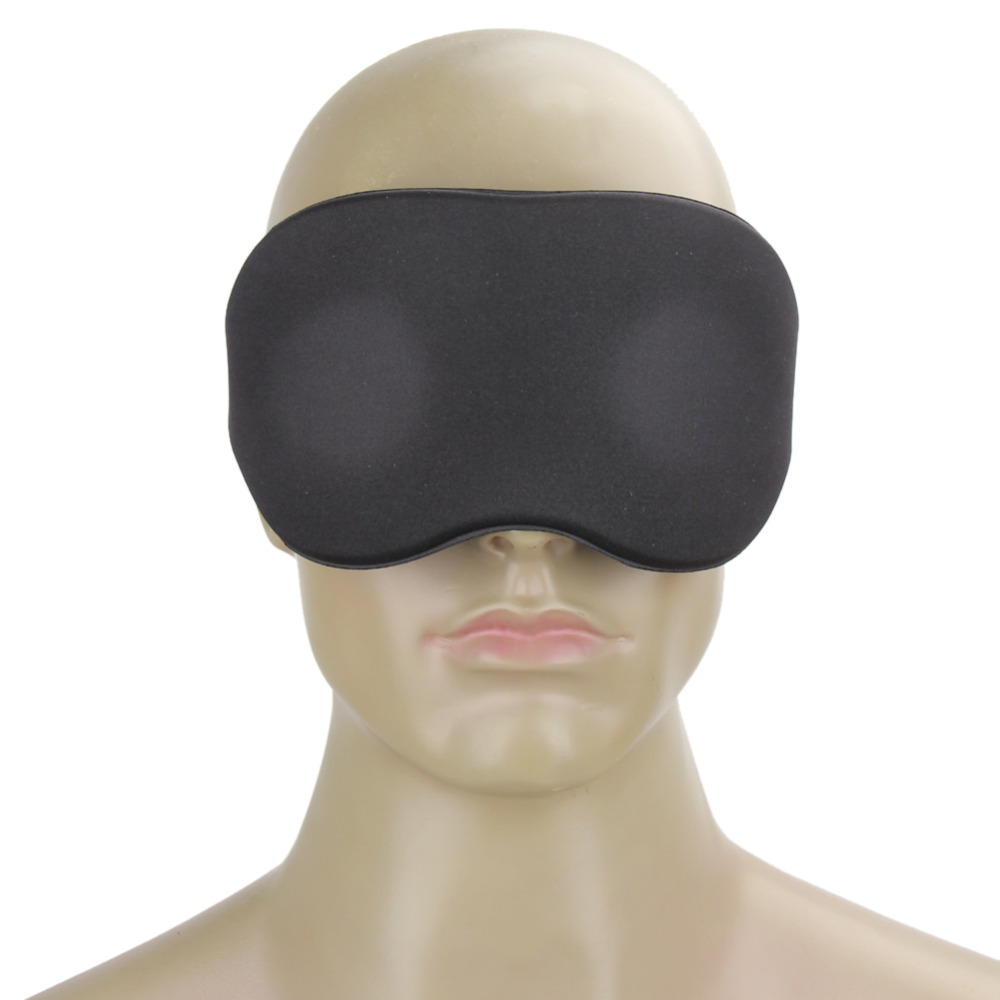 Eyeshade Travel Sleeping Eye Mask 3D Memory Foam Padded Shade Cover Sleeping Blindfold for Office Sleep Mask 4