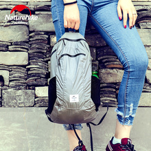 NatureHike Foldable Waterproof Backpack Ultralight Unisex Shoulder Straps NH17A012-B