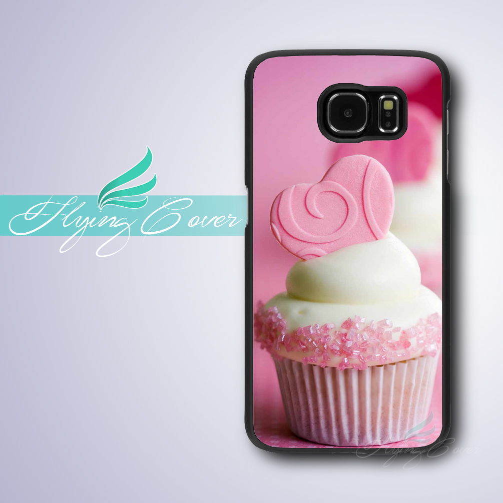coque pink cupcake desserts phone cases for samsung galaxy. Black Bedroom Furniture Sets. Home Design Ideas