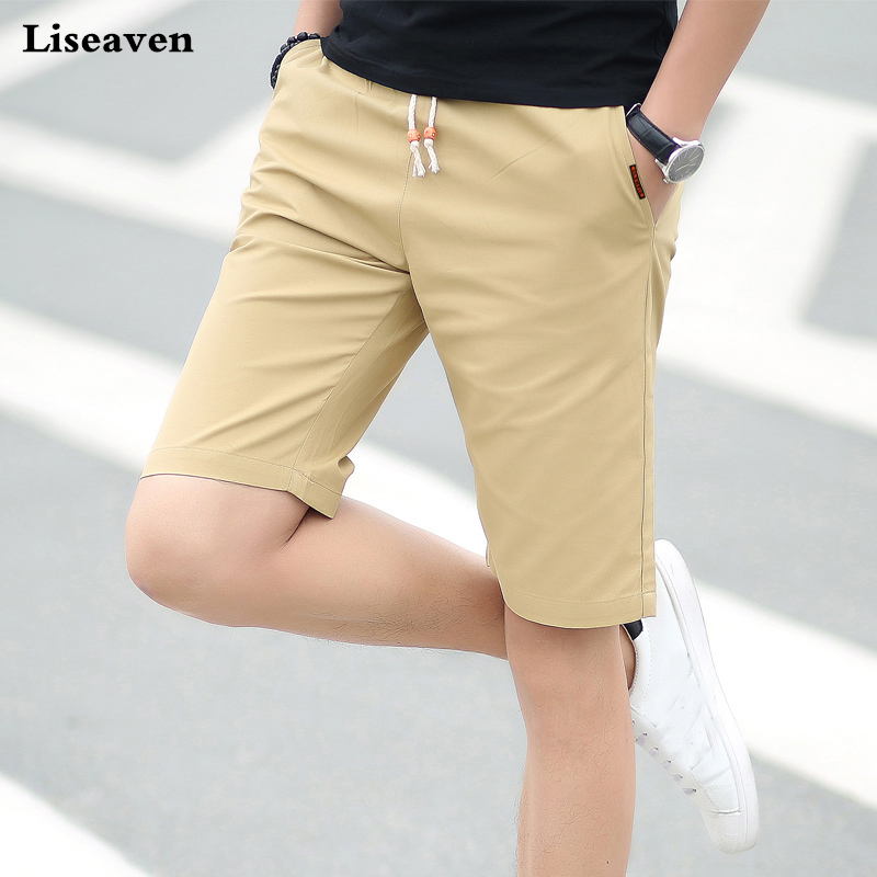 Liseaven Men Casual Shorts 2018 Summer Fashion Cotton Shorts Breathable Male Brand Clothing Shorts Homme Trousers