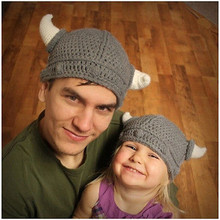 Children Bbay Hats New Cute Baby Gril Crochet Animal Hat Knitted Baby Two Horns Crochet Knitted Cap