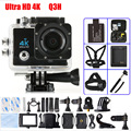 Q3H Sports Action Video Camera 4K 1080P Wifi 16MPUltra-HD 170 degree Wide-Angle Lens Waterproof Mini Camcorder