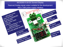 NEW 1PCS/LOT WCS2202 WCS 2202 0-2A DC current display meter