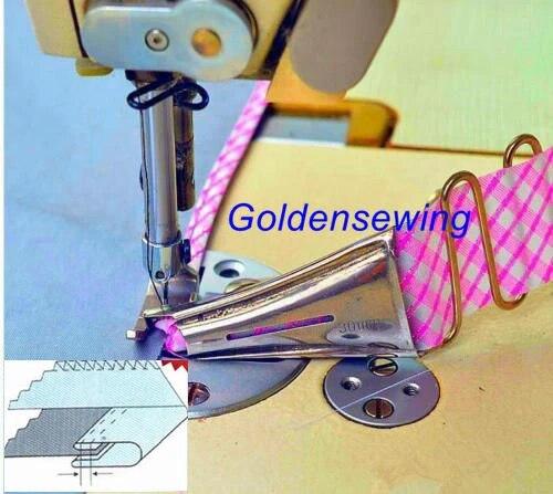 Doppelzylinder Falzkante Binder Befestigungsmappe Klebebinder für Juki 50mm