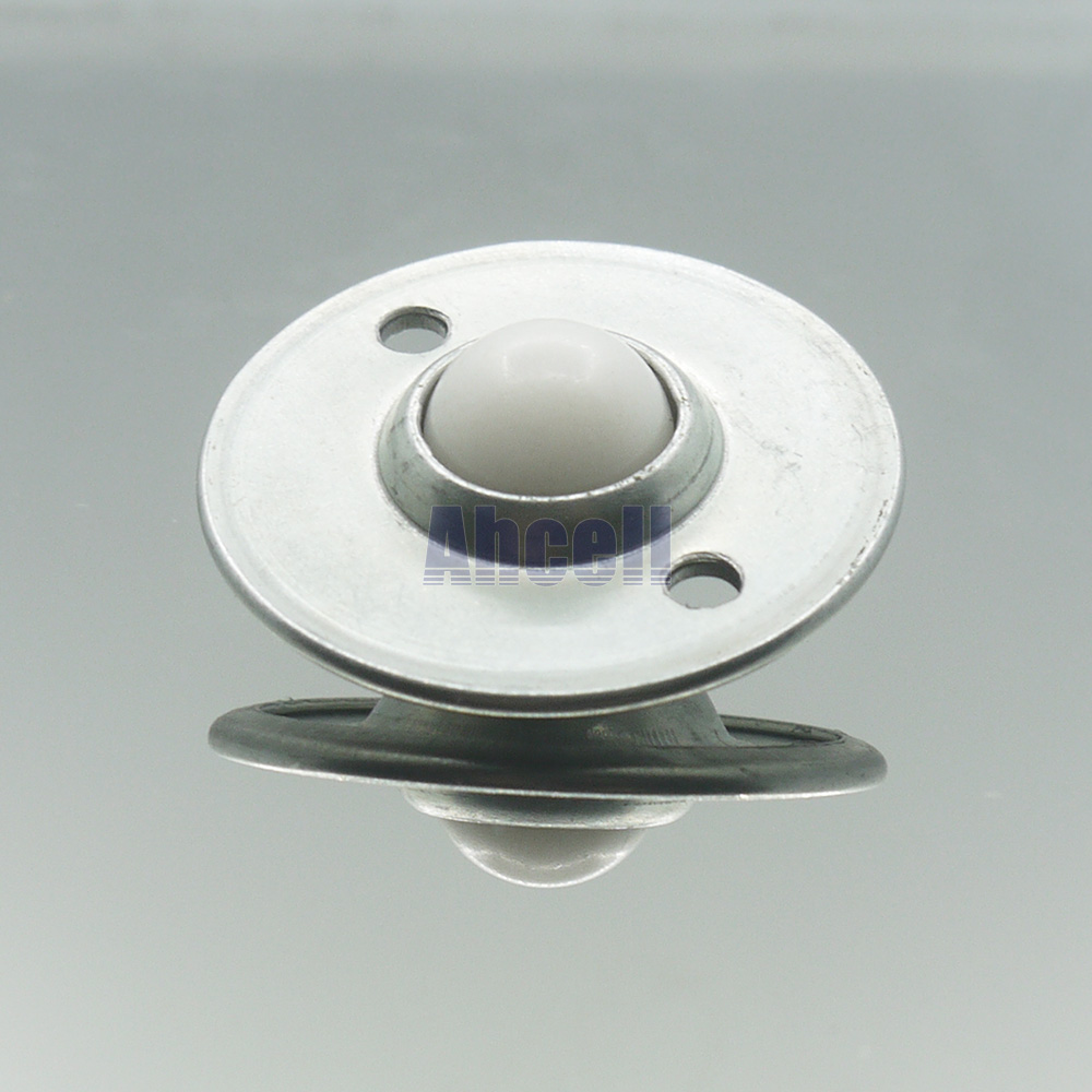 5pcs Plastic Ball CY-16B PL Fly Disc Conveyor Roller Pressed Steel POM Ball Transfer Unit Home Furniture Ball Caster Wheel