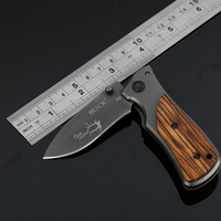 Free Delivery X35 Folding Survival Knife 57HRC Small Cuttlefish Camping Multi Tools 3CR13 Pocket Knives Aluminum