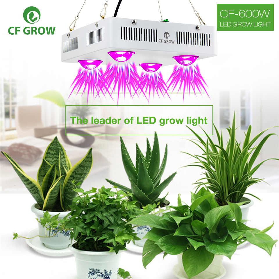 CF Grow 300W 600W COB светодиодный свет для выращивания полного спектра Крытый гидропонная теплица подсветка для рассады Замена НЛО растущая лампа