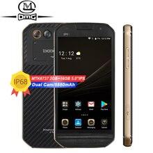 """DOOGEE S30 IP68 Wasserdichte handy 5580 mAh 5,0 """"MTK6737 Quad Core Android 7.0 2 GB + 16 GB 4G fingerabdruck-handys"""