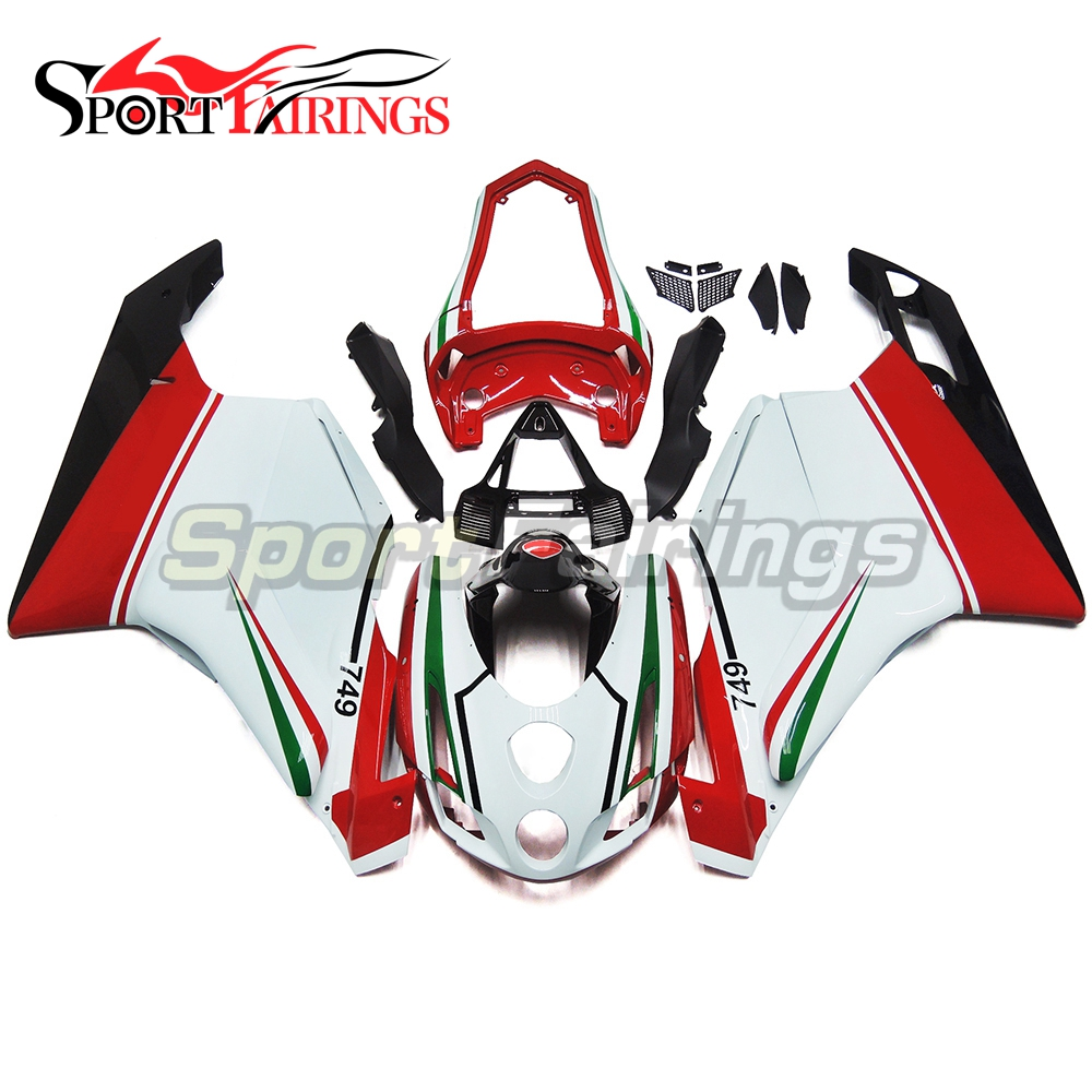 Injection Fairings For Ducati 749 999 Biposto 03 04 2003 2004 Sportbike ABS Plastic Motorcycle Fairing