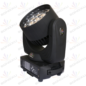 Image 3 - Lyre19X15W RGBW 4in1 LED Moving Head Light Zoom Wash Moving Head Party club DMX DJ Stage Disco Light Stage light SX MH1915A