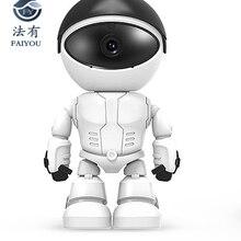 Беспроводной робот wifi камера IP P2P CCTV Cam детский монитор наблюдения HD H.264 объектив ИК ночного видения для Android или IOS CCTV Cam