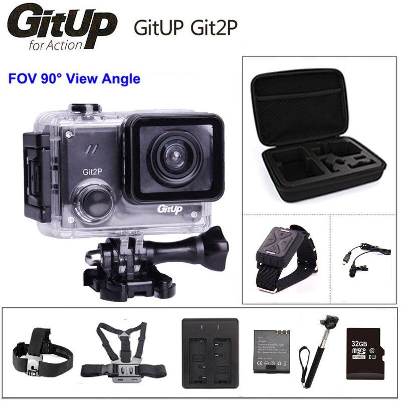 Originele GitUP Git2P 90 graden Actie Camera 2 K Wifi Sport DV HD 1080 P 30 m Waterdichte mini Camcorder 1.5 inch Novatek 96660 Cam-in Sporten & actie video camara van Consumentenelektronica op  Groep 1