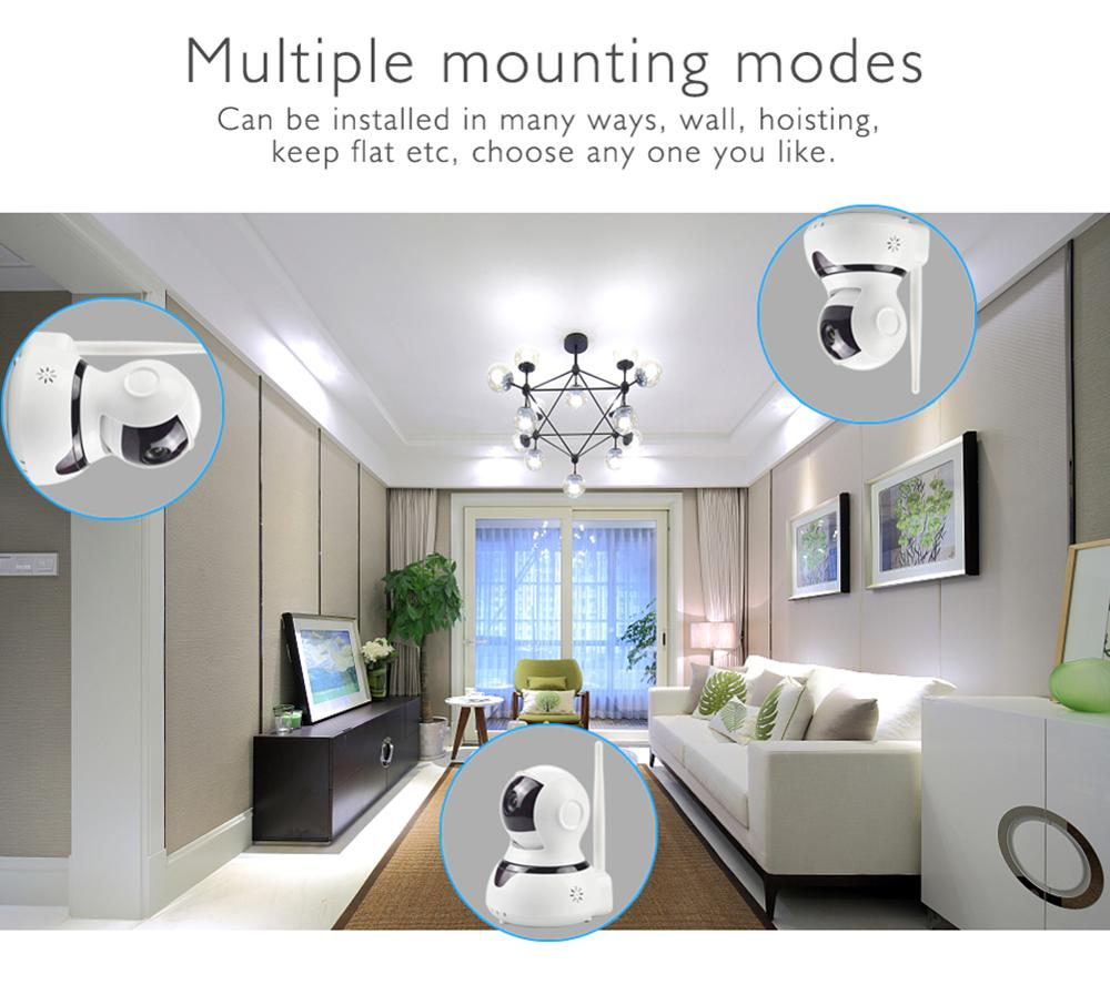 Wolf Guard Wireless 2 4G Wifi Home Alarm Security Burglar System GSM WIFI Host 720P IP Camera SOS Door PIR Motion Detector in Alarm System Kits from Security Protection