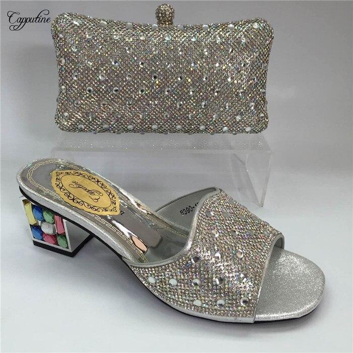 A Bolsa El Negro De Gy14 Zapatillas Brillantes Bolso Zapatos Dama SzwBxnpZ