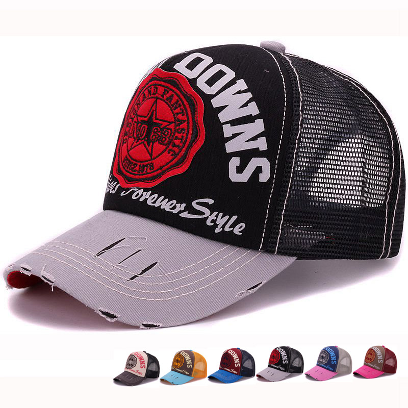 wear baseball cap in the rain indoors adult trucker mesh font embroidery patch wearing a hat