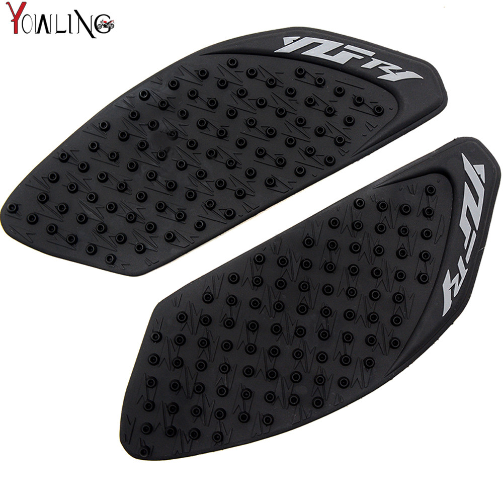 For Yamahayzf R1 2009-2014 Motorcycle Tank Pad Rubber Protector Sticker Decals Racing Gas Fuel Knee Grip Traction Side Stickers Motorbike Accessories