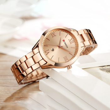 Women Watches Luxury Wrist Watch relogio feminino Clock for Women whatches for Lady Rose Gold Quartz Ladies Bracelet Watch Wach image
